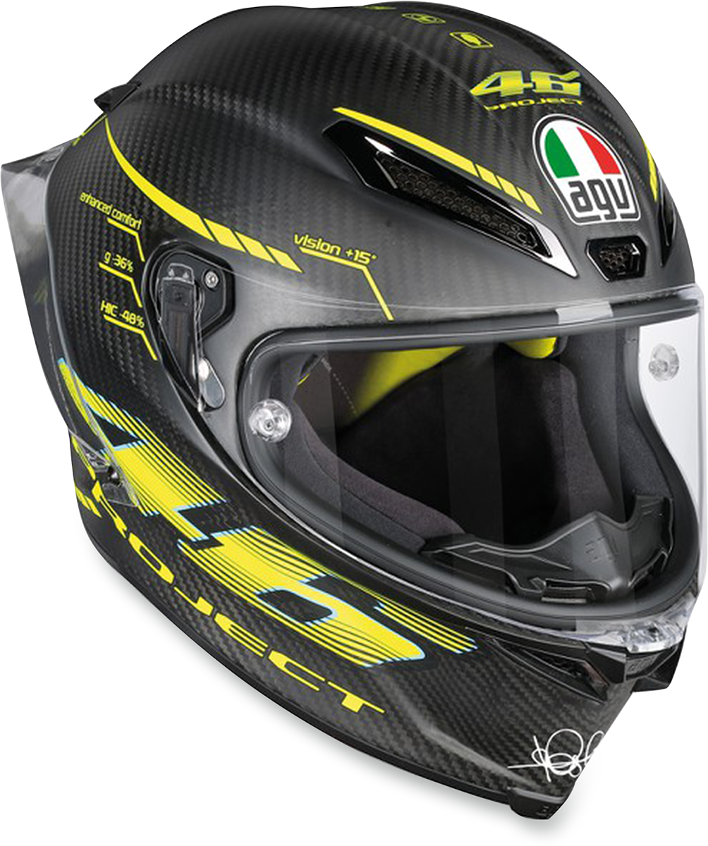 AGV Pista Unisex Carbon Fiber Motorcycle Riding Street Racing Full Face Helmet
