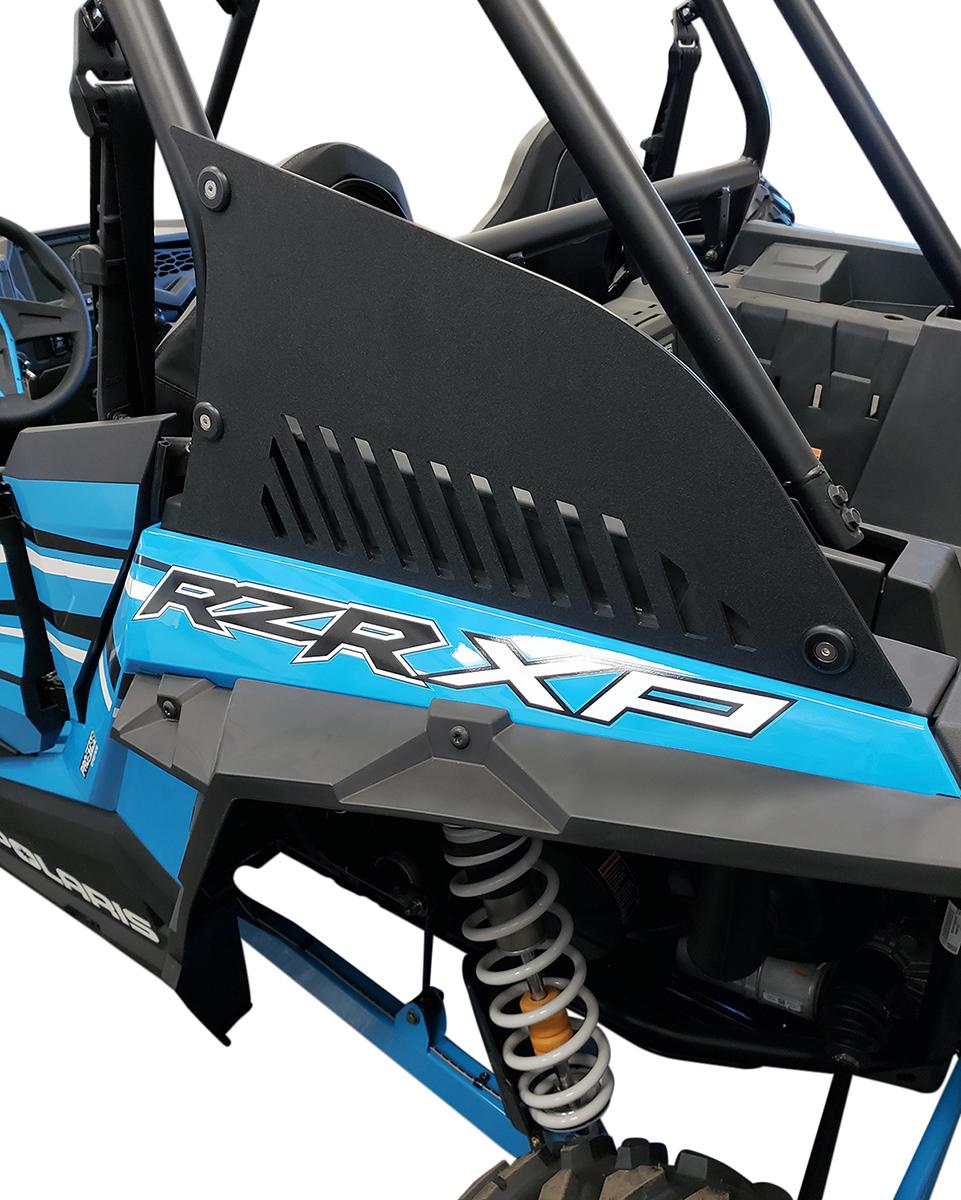 Klock Werks Gray HMW-PE Pair Sail Panels for 14-18 Polaris RZR XP 1000 Turbo 4