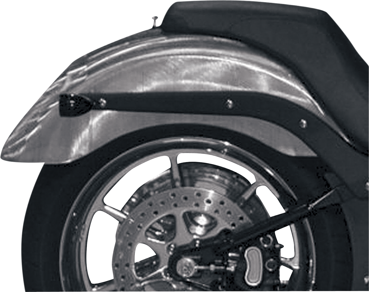 "Russ Wernimont Rear 9 1/2"" x 36"" Fender for 06-10 Harley Softail Springer FXSTC"