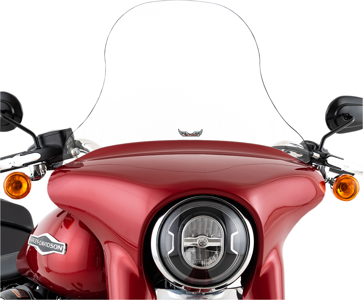 "Slipstreamer 12"" Clear Motorcycle Fairing Windshield 18-20 Harley Softail FLSB"