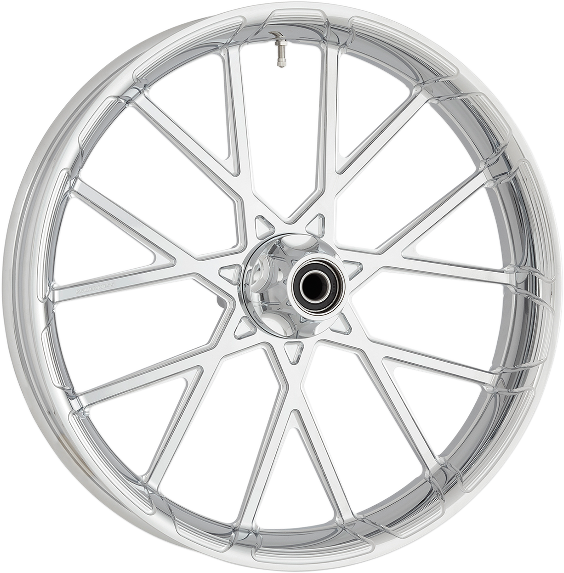 "Arlen Ness Chrome 21"" x 3.5"" ABS Procross Front Wheel for 08-18 Harley Touring"