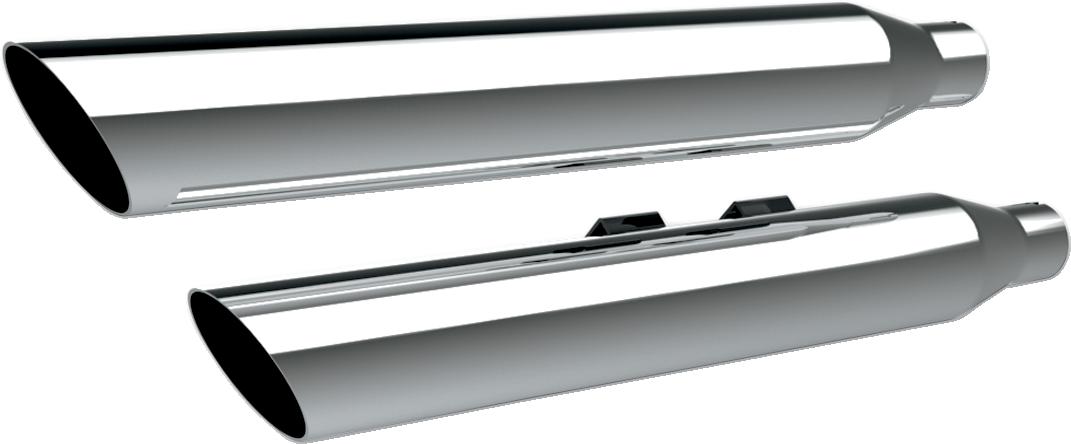 Khrome Werks HP-Plus Chrome Slip on Mufflers for 08-17 Harley Softail FLSTNI