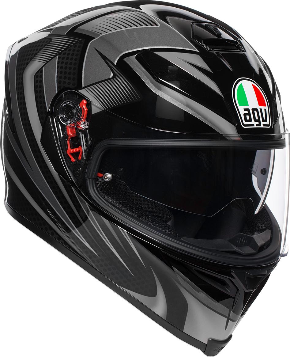 Agv Unisex K5 Hurricane Full Face Motorcycle Riding Road Street Racing Helmet