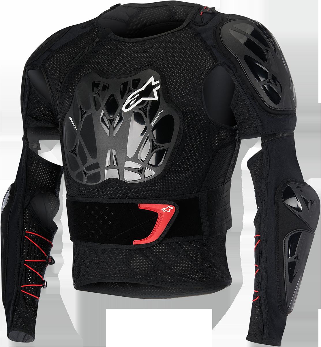 Alpinestars Black Unisex Textile Bionic Tech Off road Dirt Bike Racing Jacket