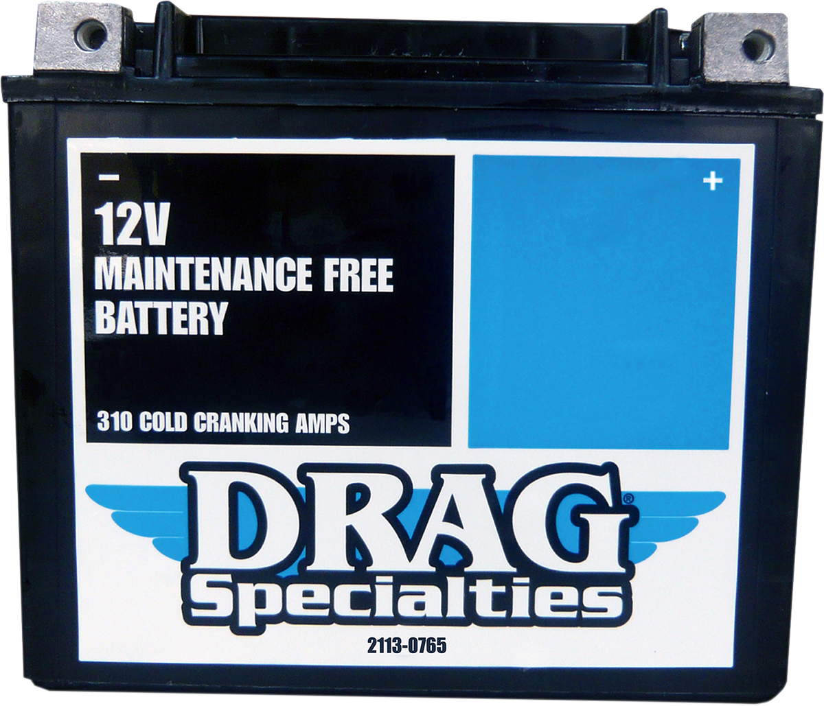 Drag Specialties Factory Activated Maintenance Free Battery 99-20 Dyna Softail