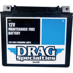 DRAG SPECIALTIES FACTORY-ACTIVATED HIGH-PERFORMANCE AGM MAINTENANCE-FREE BATTERIES