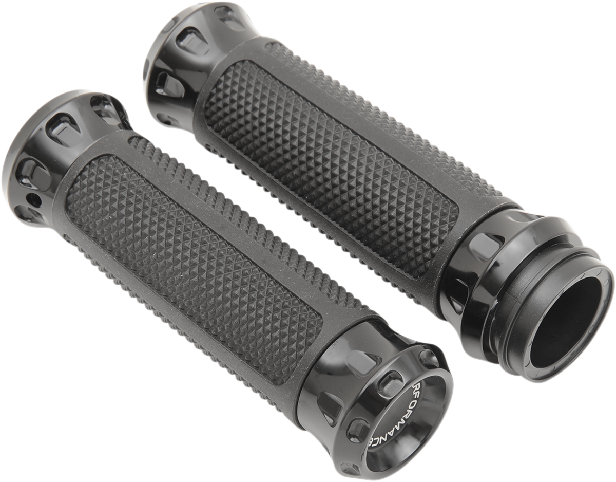 """Performance Machine TBW 1"""" Motorcycle Grips 08-17 Harley Touring Softail FXDLS"""