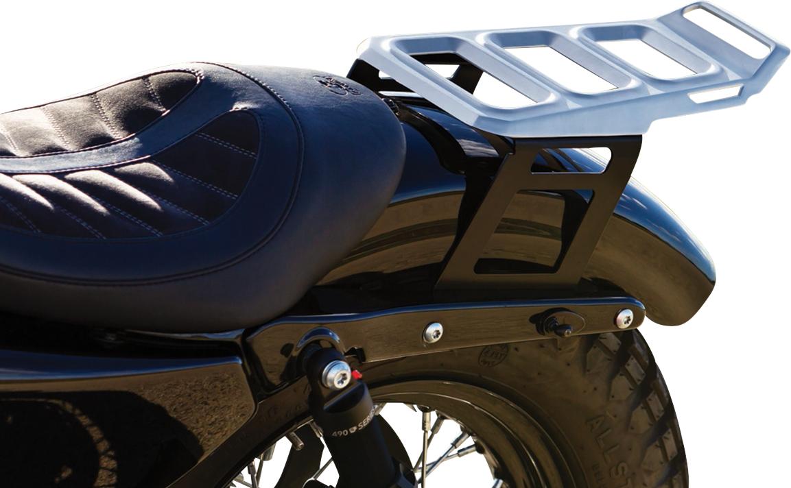 Kuryakyn 6664 Dillinger Rear Luggage Rack for 04-19 Harley Sportster XLC XLL XLN