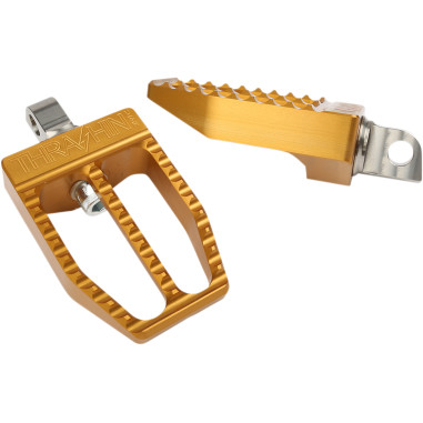 FOOTPEGS MILITANT GOLD