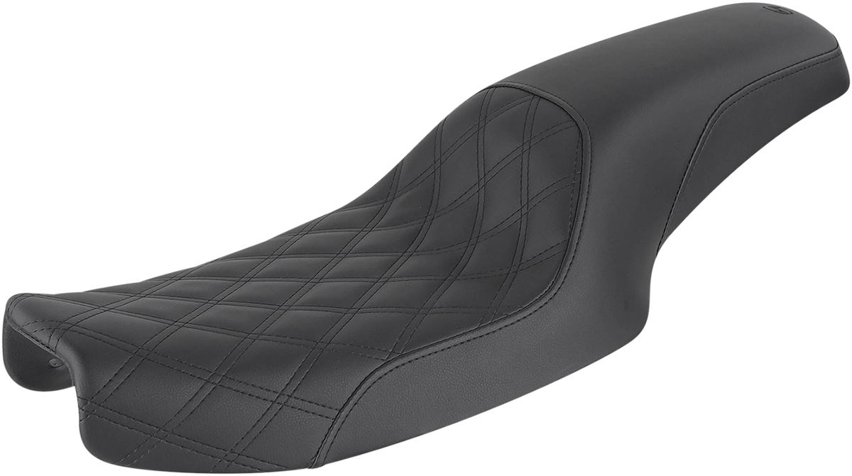 Saddlemen Profiler LS 2-Up Motorcycle Seat 91-95 Harley Dyna FXDL FXD FXDC