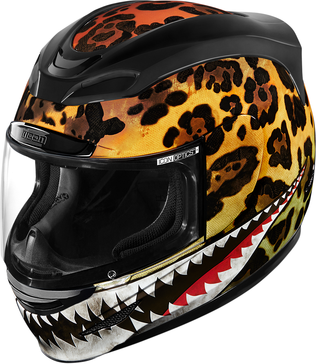 Icon Airmada Sauvetage Unisex Motorcycle Riding Street Racing Full Face Helmet