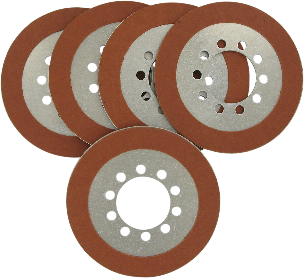 Drag Specialties Organic Friction Plate Kit For 68-84 Harley Touring Softail FXR