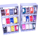 24-COLOR HD WIRE ASSORTMENT AND RACK KIT