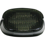 BLACKOUT LAYDOWN LED TAILLIGHT WITH TAG WINDOW