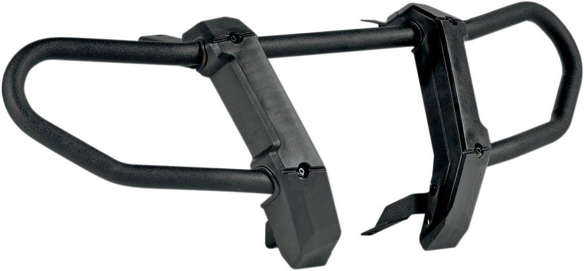 Kimpex Black Polyethylene ATV Front Bumper 06-19 Polaris Kawasaki Brute Force