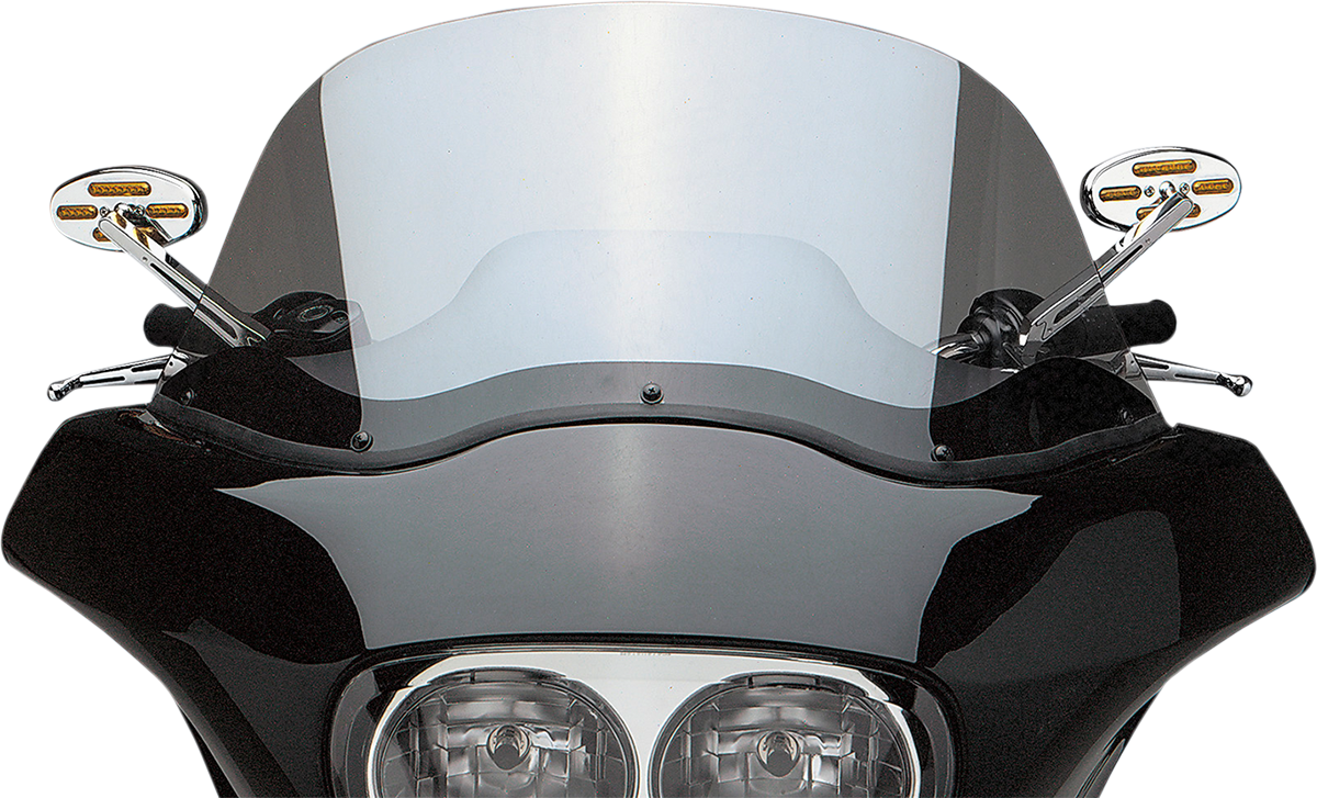 Drag Specialties Chrome LED Stealth II Left Hand Handlebar Motorcycle Mirror