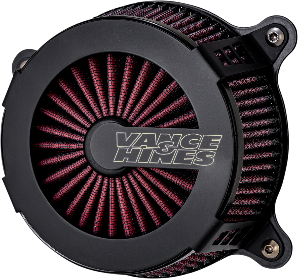 Vance & Hines VO2 Cage Fighter Air Filter Cleaner Kit 99-17 Harley Softail FXSB