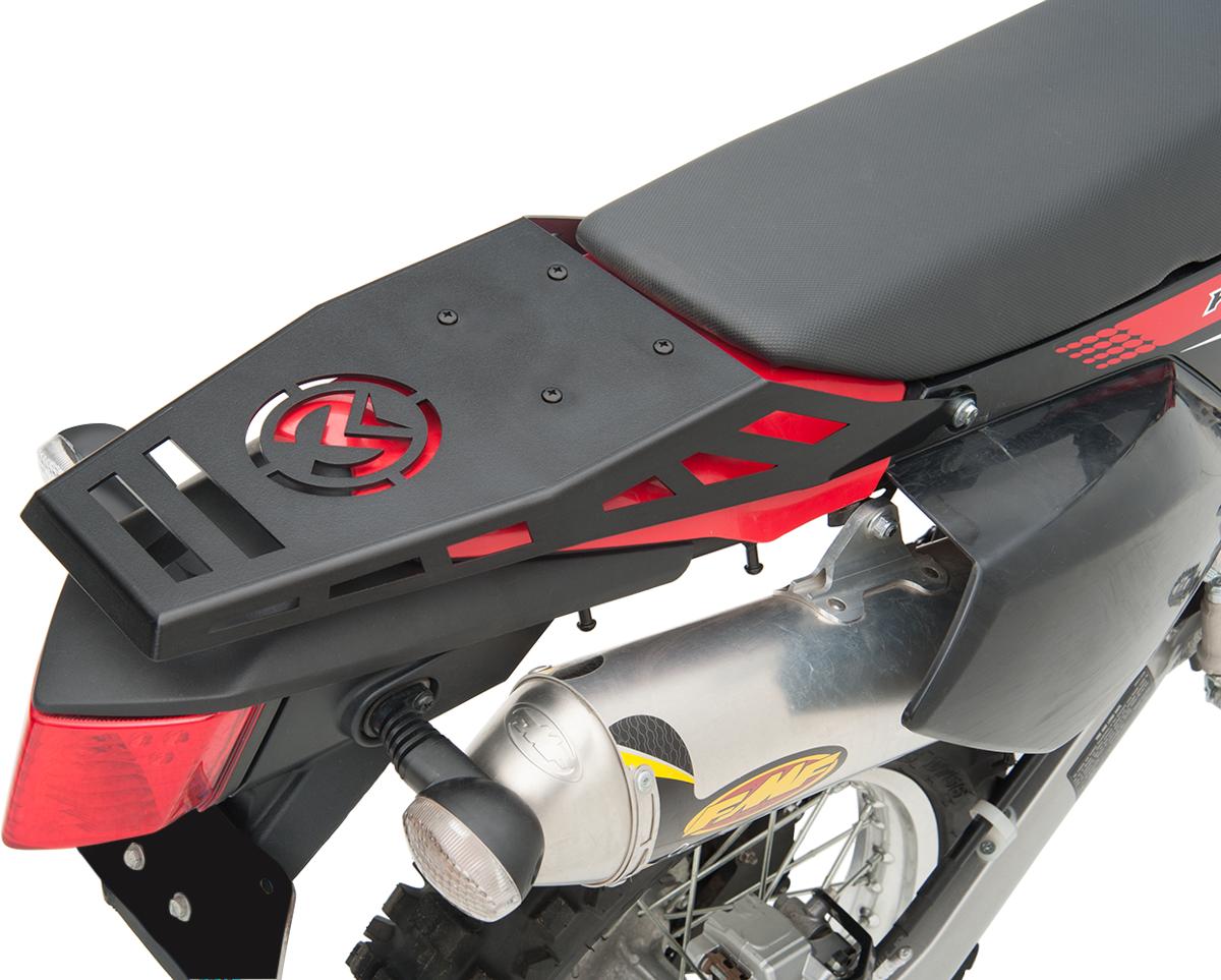 Moose Racing XCR Black Rear Offroad Luggage Rack for 15-16 Honda CRF250X CRF450X