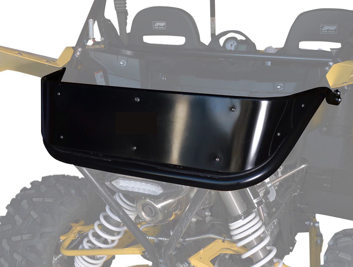 IMG Motorsports Black Steel Rear Tailgate for 16-17 Yamaha YXZ1000R
