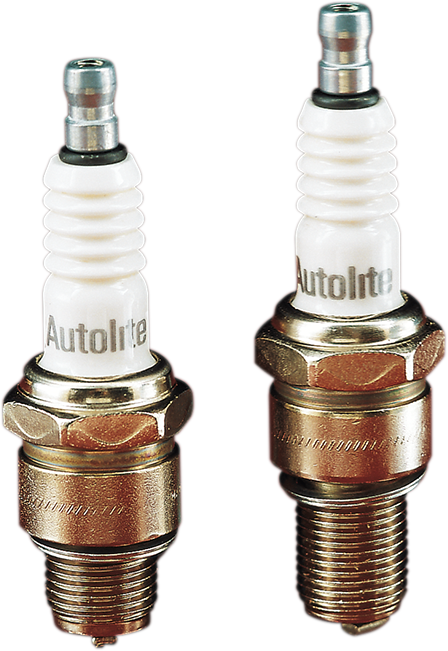 Autolite 4164 Pair Spark Plugs for 94-17 Harley Dyna Touring Softail XL Buell