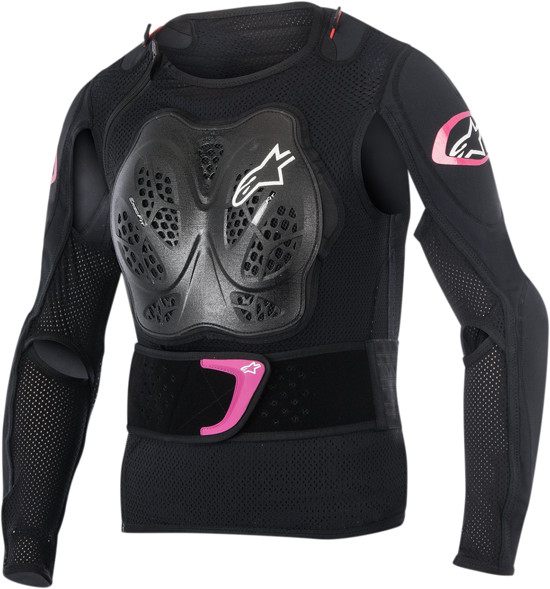 Alpinestars Womens Black Pink Stella Bionic Off road Riding Dirt Bike Jacket