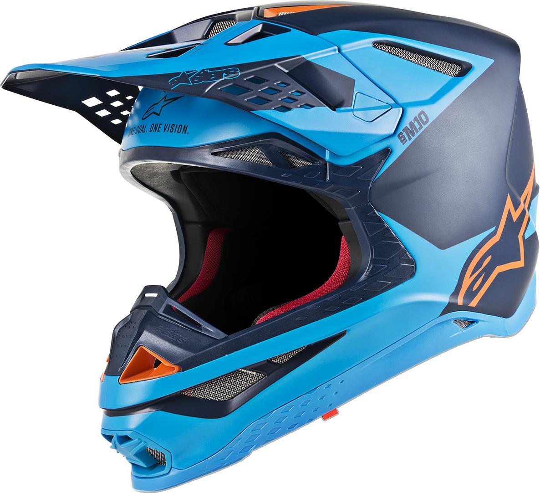Alpinestars Supertech M10 Unisex Offroad Riding Dirt Bike Atv Utv Racing Helmet