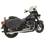 DUAL EXHAUST SYSTEM WITH STRAIGHT MUFFLERS