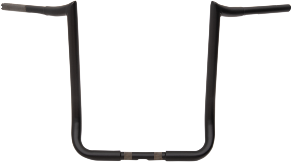 "La Choppers Flat Black 18"" Prime Ape Handlebar for 83-19 Harley Touring FLHT"