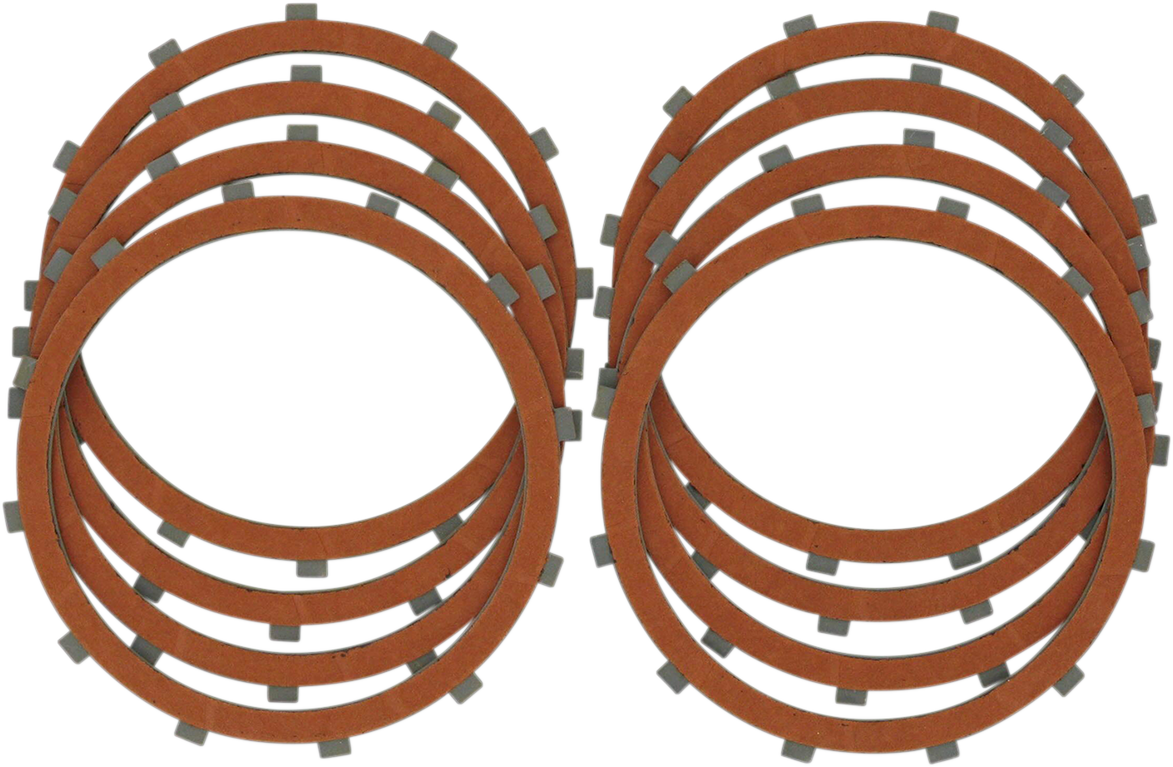 Drag Specialties Organic Friction Plate Kit for 71-84 Harley Sportster XLH XLCH