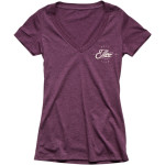 WOMEN'S RUNNER V-NECK TEE