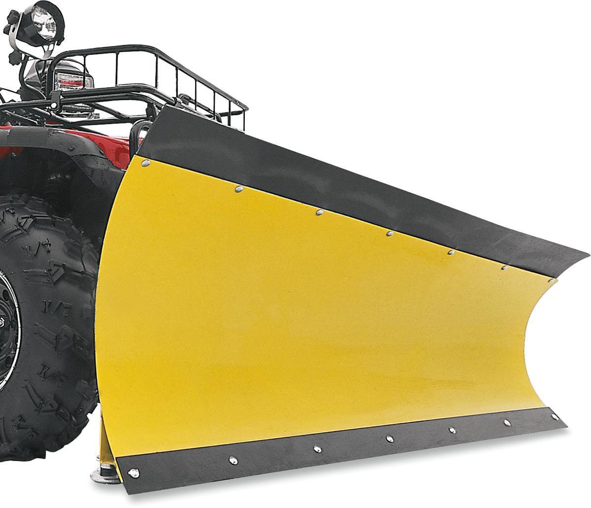 "Moose Utility ATV UTV Black 60"" Rubber County & Straight Blade Snow Plow Flap"