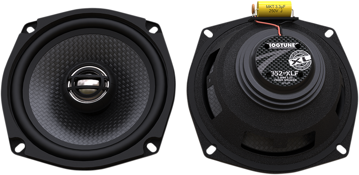 Hogtunes 150 Watt XL Series Rear Speakers 06-13 Harley Touring FLHXS FLHTCU