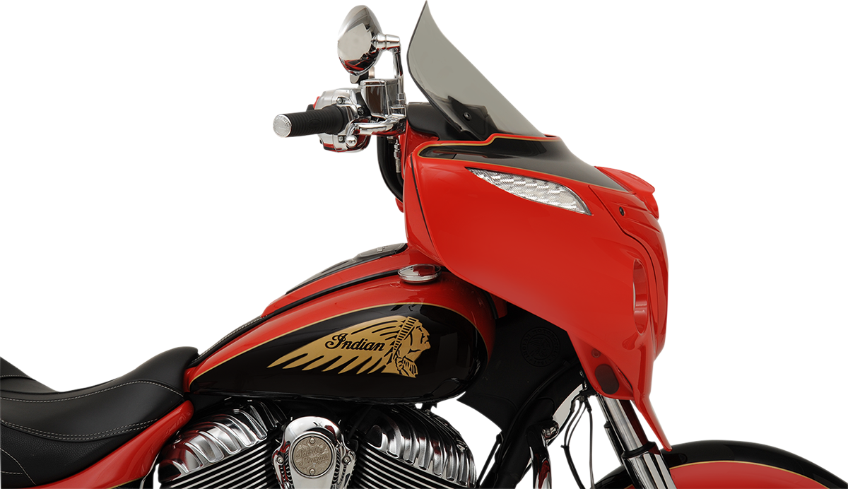 "Klock Werks 14"" Tint Flare Windshield for 14-19 Indian Chieftain Roadmaster"