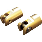 BRASS FOOTPEG MOUNTS