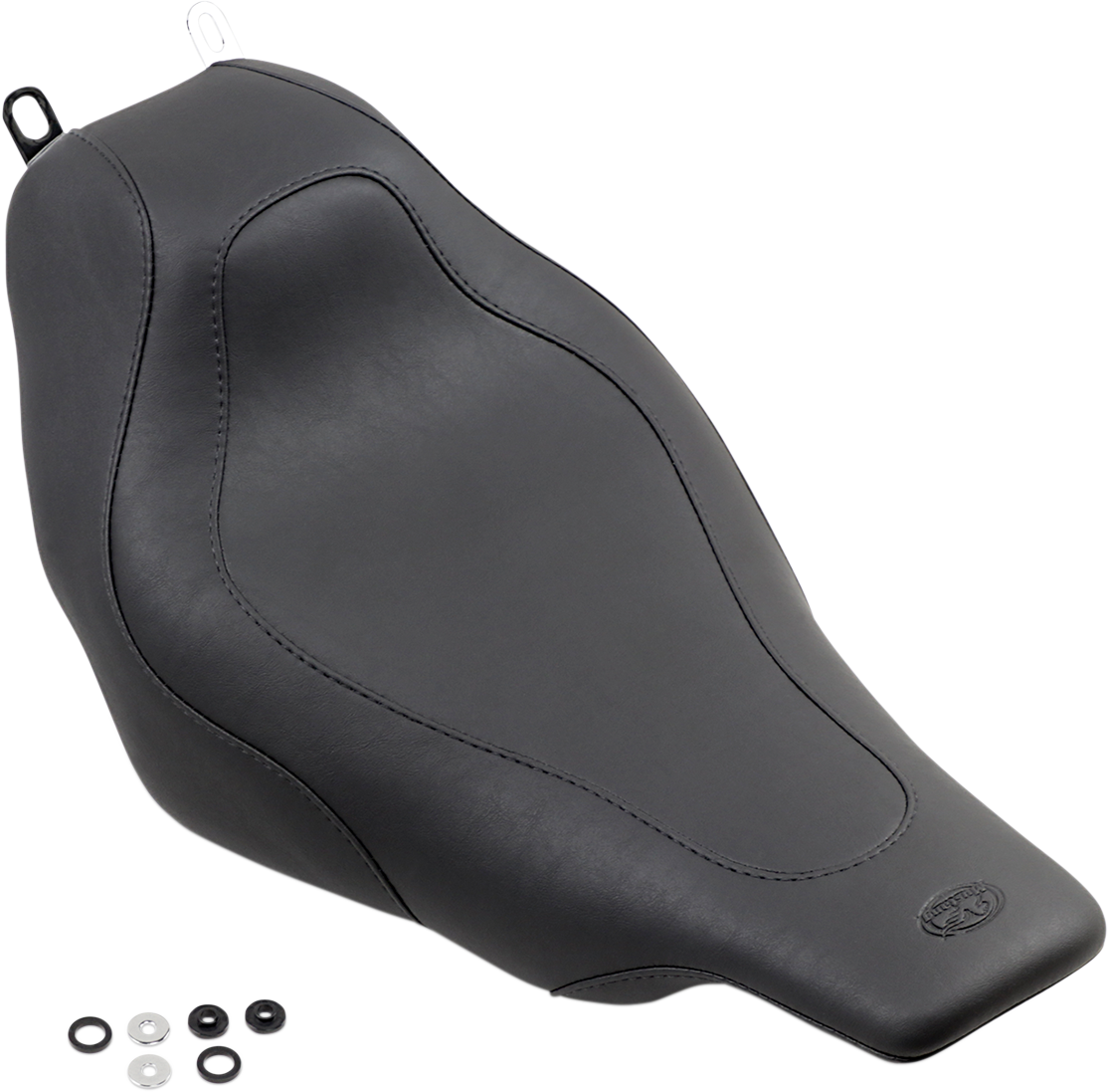 Mustang Synthetic Leather Tripper Solo Seat 97-07 Harley Touring FLHT FLTR FLHTC
