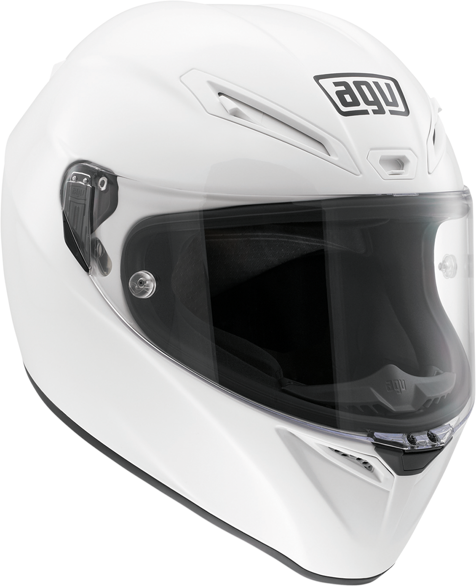 AGV Gloss White Unisex Veloce Full Face Motorcycle Riding Street Racing Helmet