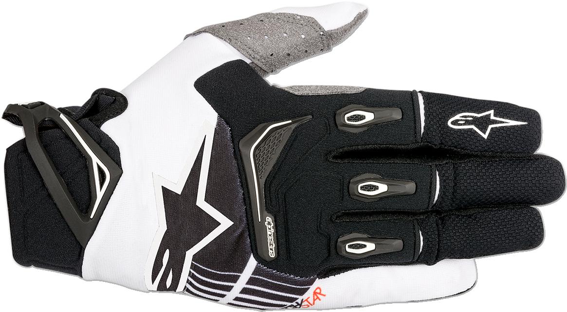 Alpinestars Mens Textile S8 Techstar Off road Riding Dirt Bike Racing Gloves