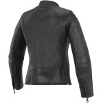 OSCAR SHELLY WOMEN'S LEATHER JACKET
