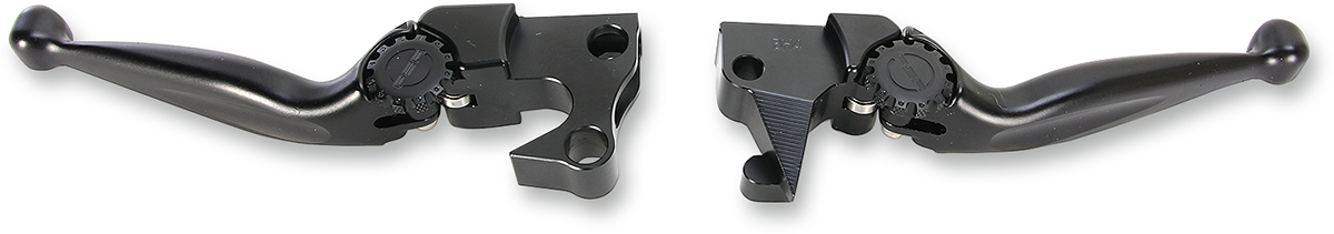 PSR Black Journey Adjustable Handlebar Hand Lever Set for 04-13 Harley XL 1200