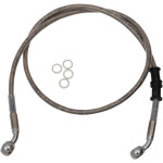 EXTENDED LENGTH STAINLESS STEEL FRONT BRAKE LINE KITS