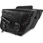 RANGER STUDDED SUPER SLANT SADDLEBAGS