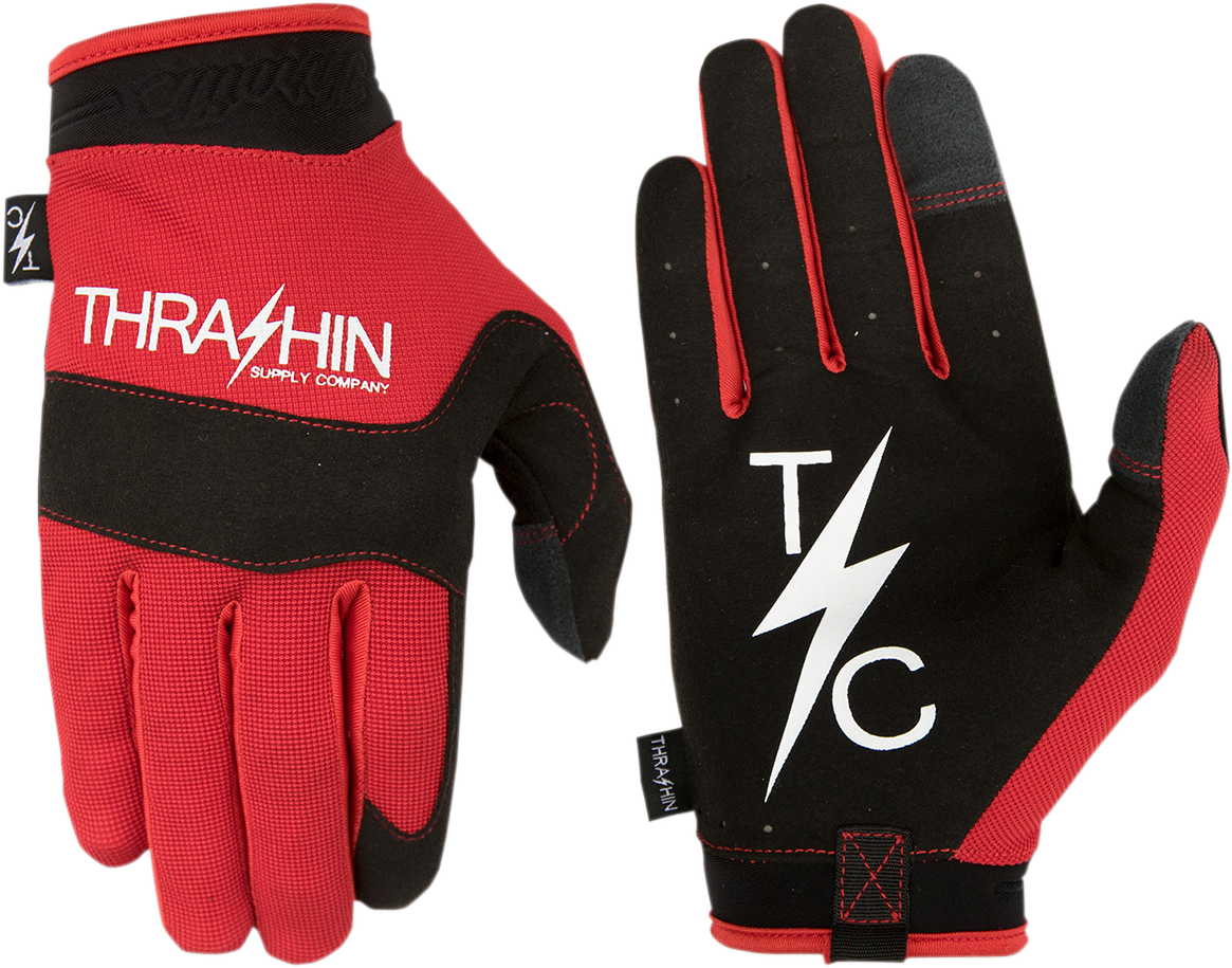 Thrashin Supply Mens Covert V2 Textile Motorcycle Riding Street Racing Gloves