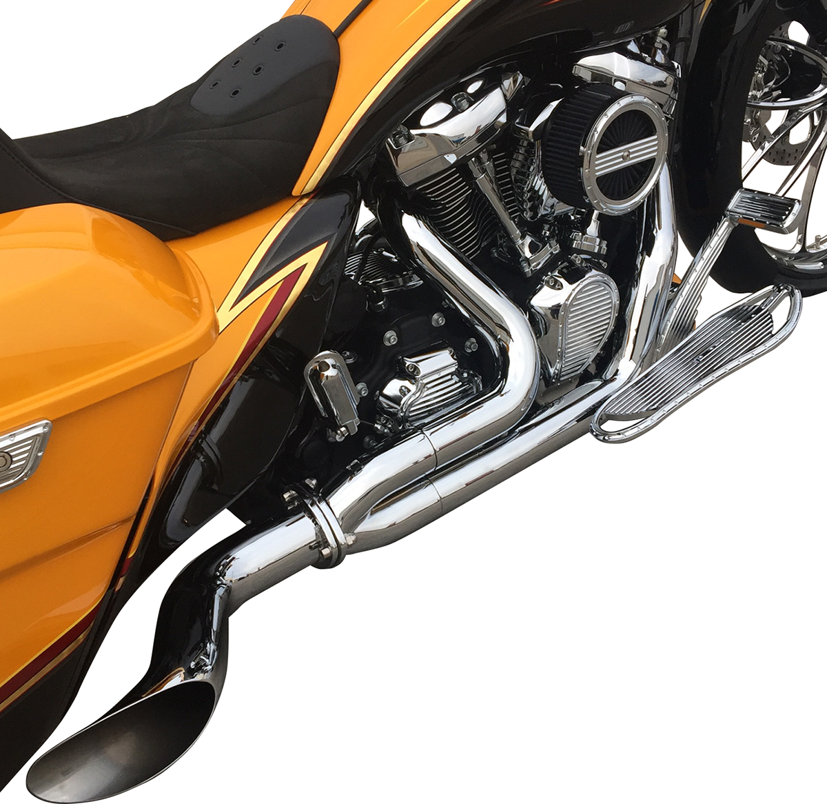 Covingtons Chrome Destroyer Motorcycle Exhaust 2018 Harley Davidson ...