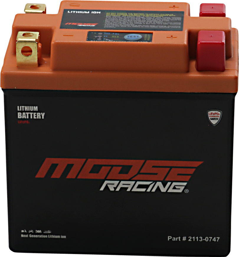 Moose Racing Lithium Ion Battery 1982-2017 Kawasaki XT550 KLR650E KL650A KLR650B