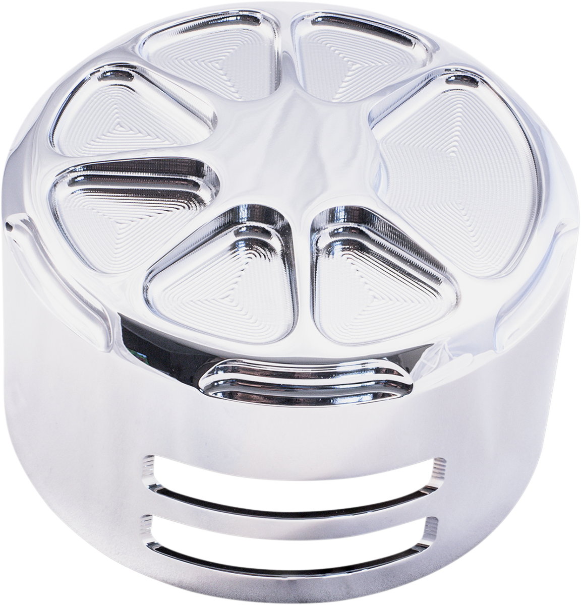 La Choppers Chrome Fusion Horn Cover 91-19 Harley Dyna Touring Softail Sportster