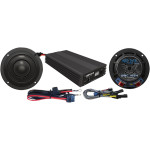 WILD BOAR AUDIO 400 WATT AMP/SPEAKER KIT