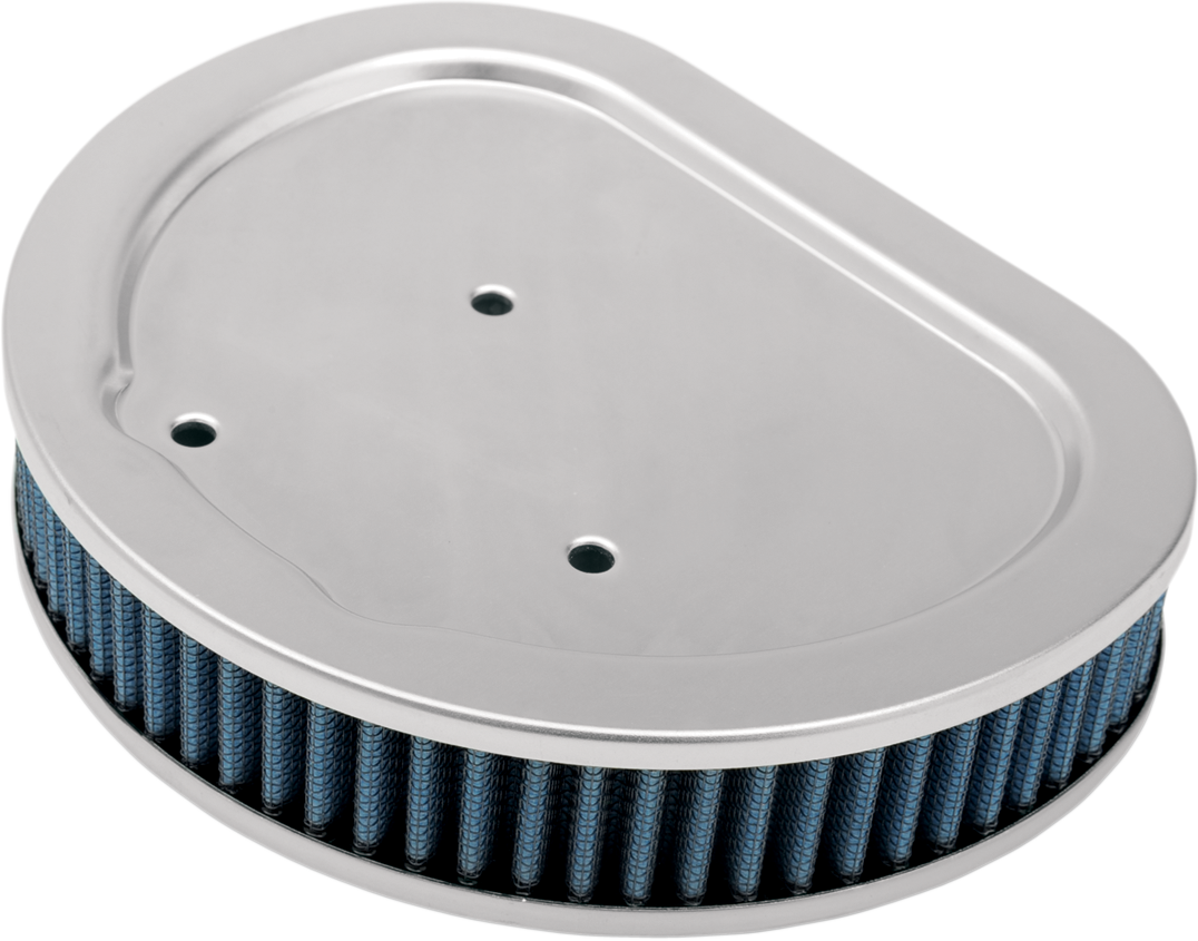 Drag Specialties Blue Gauze Reusable Air Filter for 99-15 Harley Dyna Touring