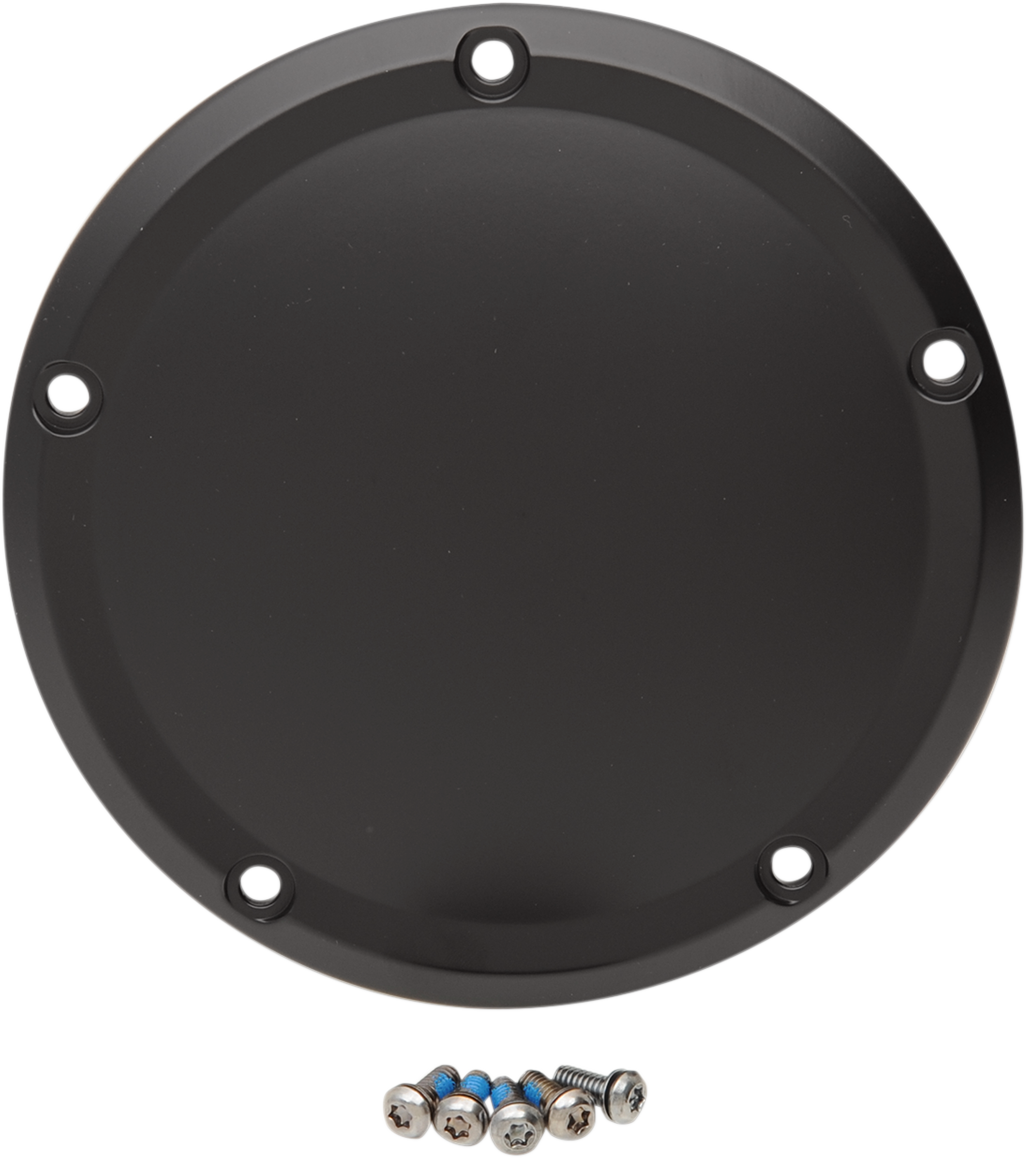 Drag Specialties Black 5 Hole Derby Cover 15-19 Harley Davidson Touring FLHX