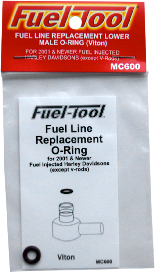 Fuel Tool Fuel Line O-Ring Male End for 01-18 Harley Touring Softail Sportster