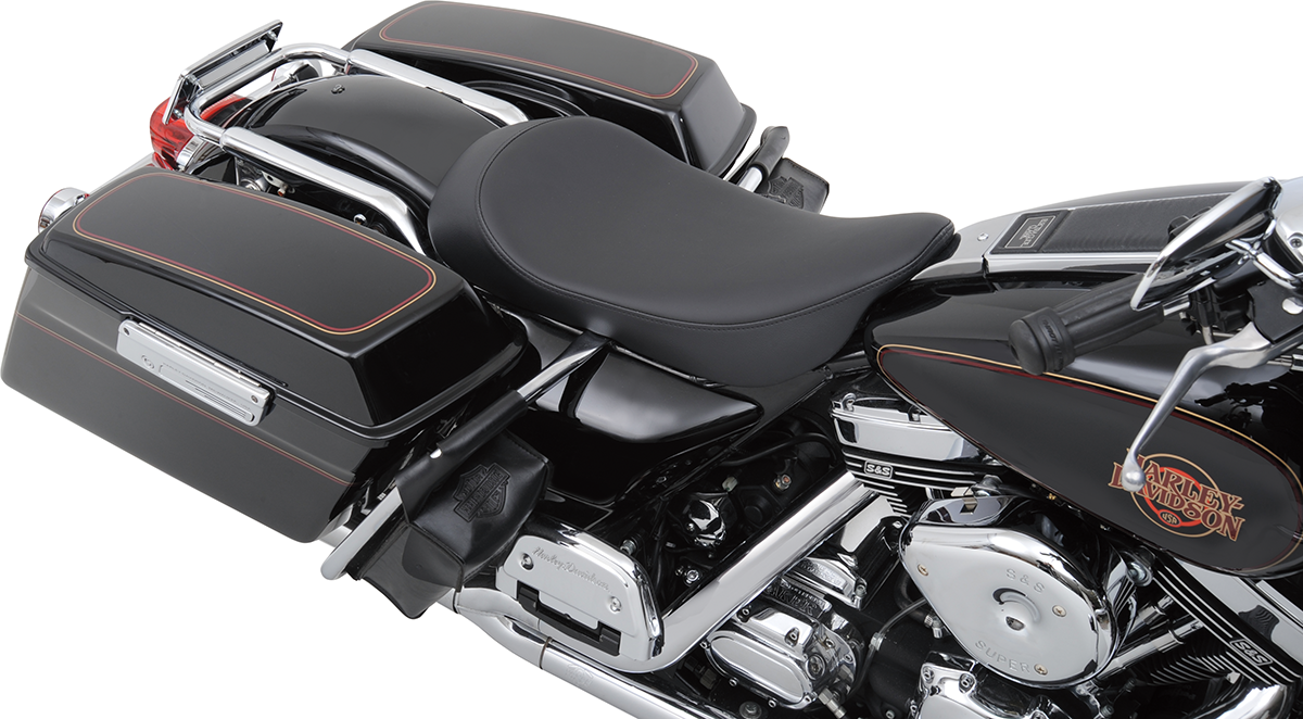 DDrag Specialties Low Profile Smooth Solo Seat 97-07 Harley Touring FLHR FLHX